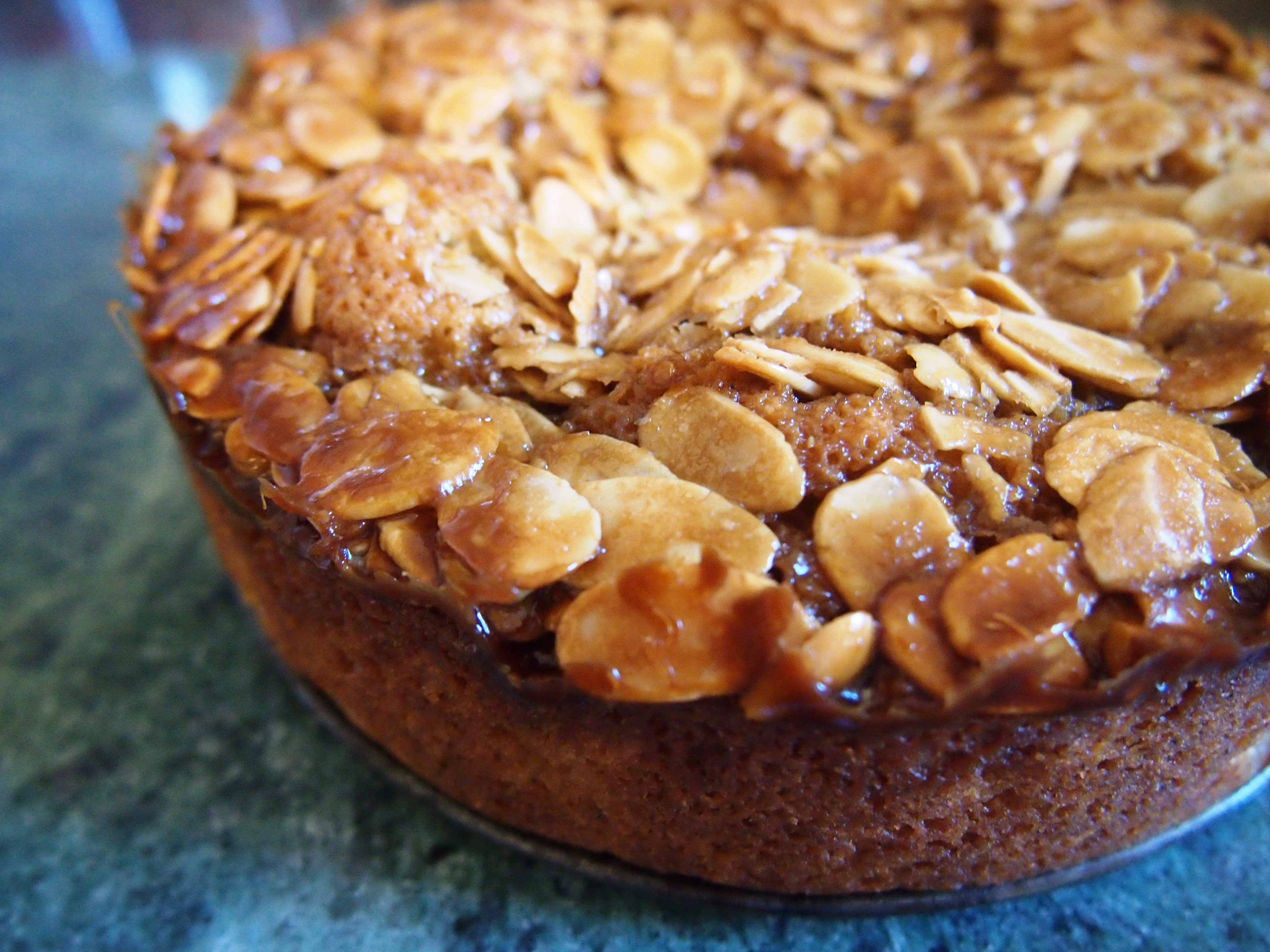 Let them eat pear & almond cake – what maddy did next