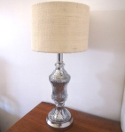 Mercury Glass Lamp 5