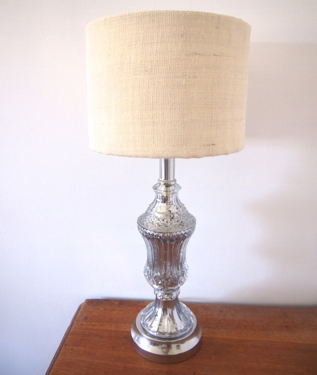 Mercury Glass Lamp 3